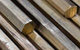 Copper alloys for free machining, hollow rod